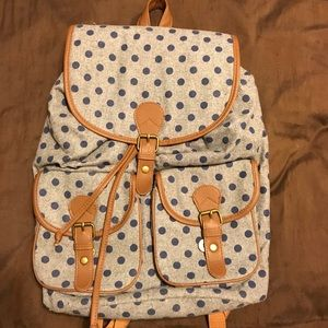 Handbags - Target polka dot backpack